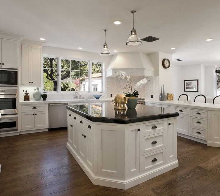 Exquisite White Kitchen S With Black S