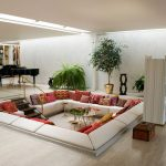 Extraordinary Amazing Living Rooms Of Entrancing Awesome Square Sectional Sofa Room