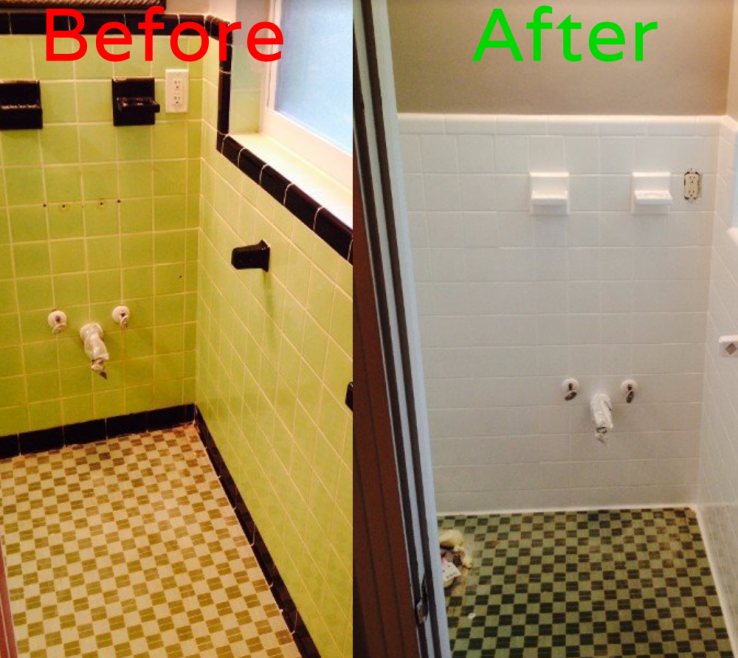 Extraordinary Bathroom Tile Refinishing Of Resurfacing