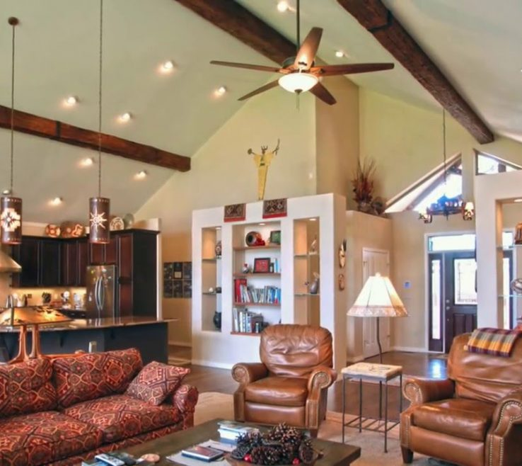 Extraordinary Living Room Ceiling Lighting Ideas Of Vaulted Kitchen And Bedroom Youtube