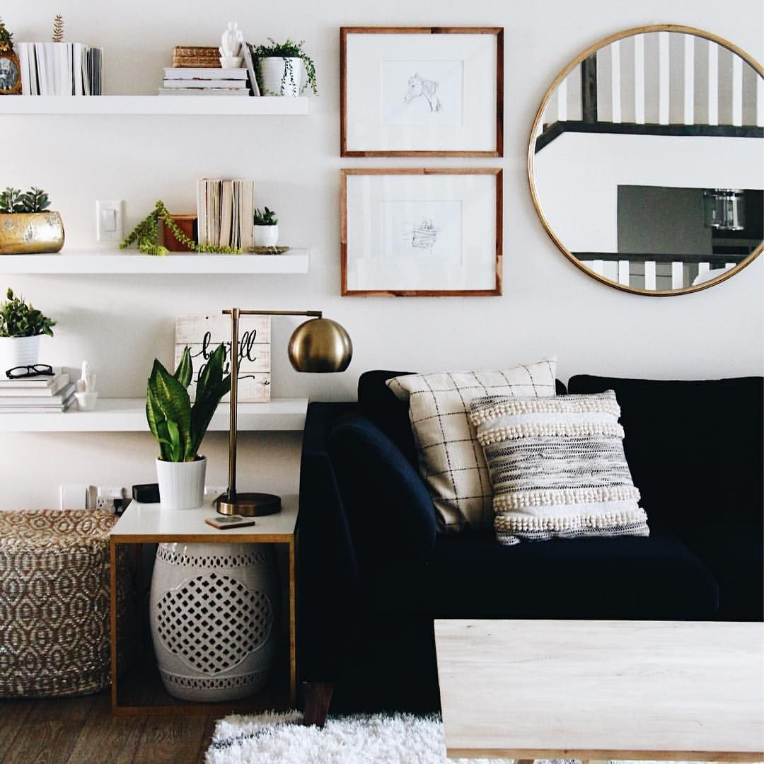 Extraordinary Living Room Wall Mirrors Of How E The Right ...