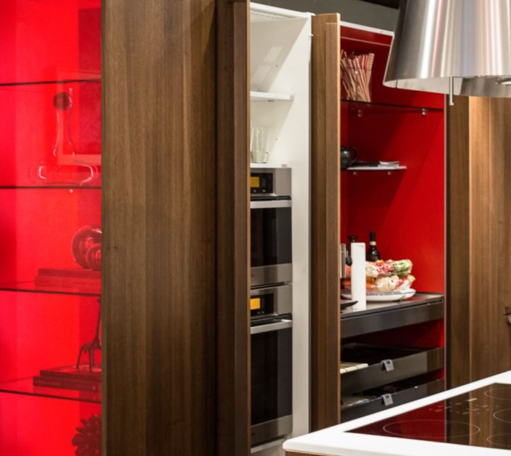 Extraordinary Red Kitchens