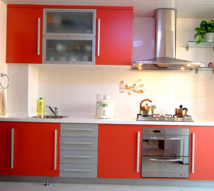 Extraordinary Red Kitchens Of Kitchen S