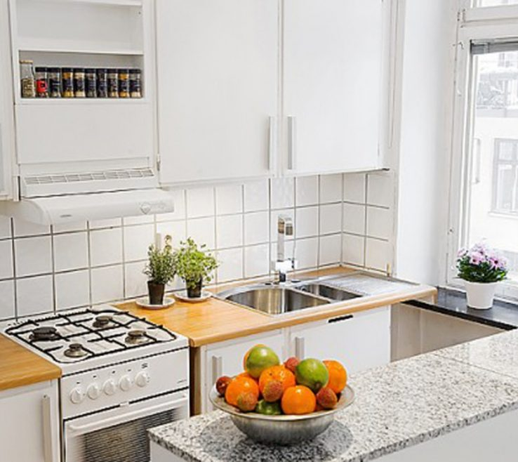 Extraordinary Small Apartment Kitchen Ideas Of 11 Custom Tips