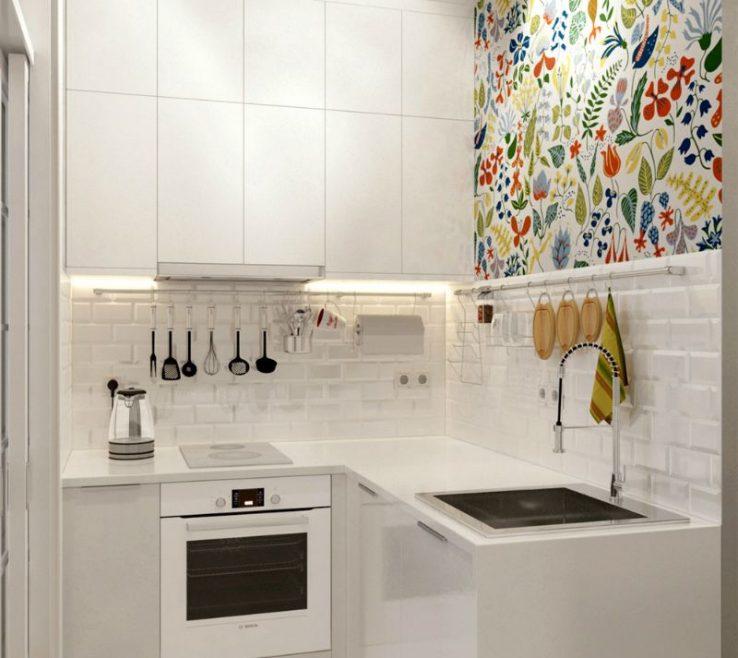 Extraordinary Small Apartment Kitchen Ideas Pact 5 Square Meter Studio #studioapartment #smallkitchen #smallspaces Simple