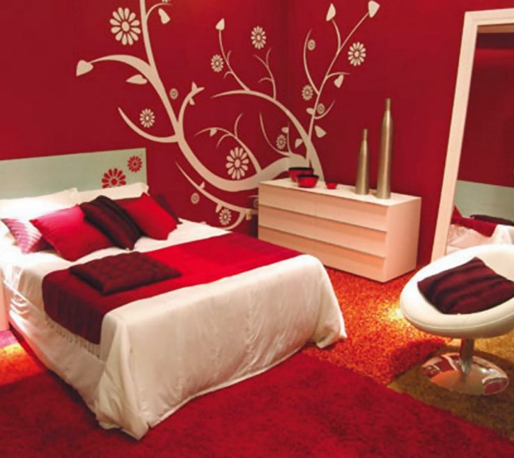 Eye Catching Bedroom Paint Design Of Wall Painting Designs Interior Painting Ideas