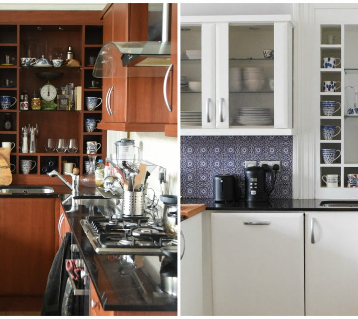Eye Catching Kitchen Renovation Before And After Of Heres What A Looks Like