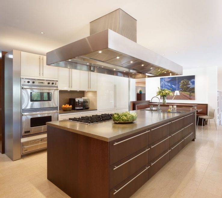 Eye Catching Modern Contemporary Kitchen Of Model Ideas