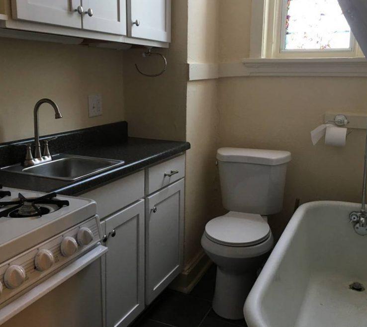 Fascinating Apartment Bathroom Of St Louis Kitchen Tinykitchenbathroom