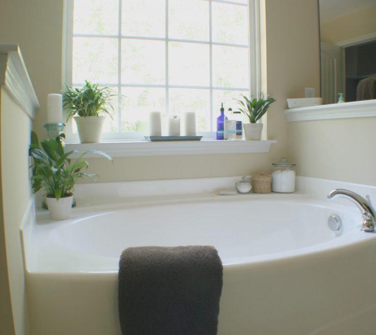 Fascinating Bathroom Tub Ideas Of Decorating Around A Bathtub