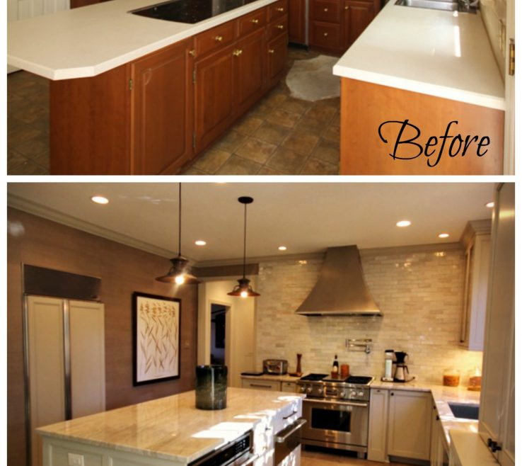 Fascinating Before And After Kitchen Remodel Of Renovatio Images On