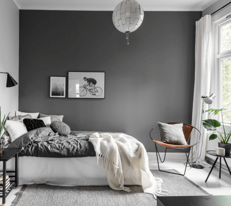Gray Bedroom Decor Of Minimalist Décor Is The Perfect Statement
