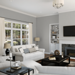 Gray Paint Colors For Living Room Of Light French