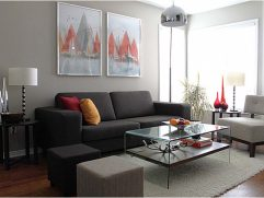 Gray Paint Living Room