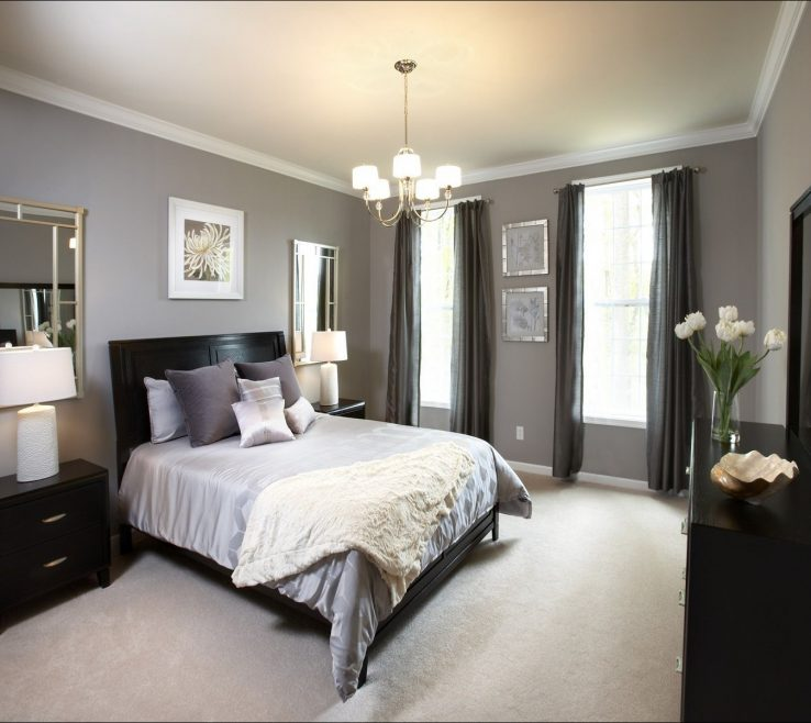 Grey Master Bedroom Of Decorating Ideas Walls