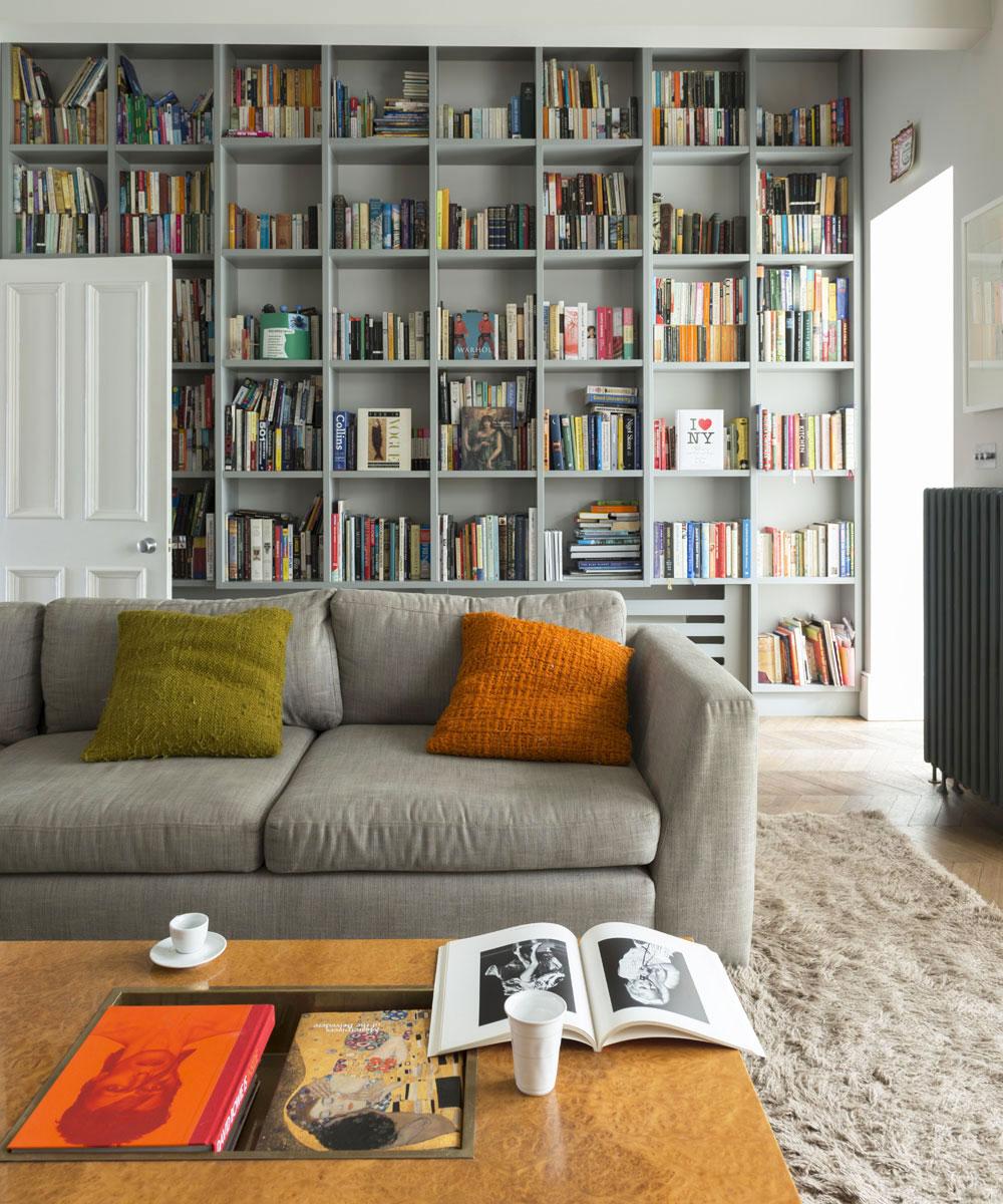 Grey Paint Living Room - ACNN DECOR