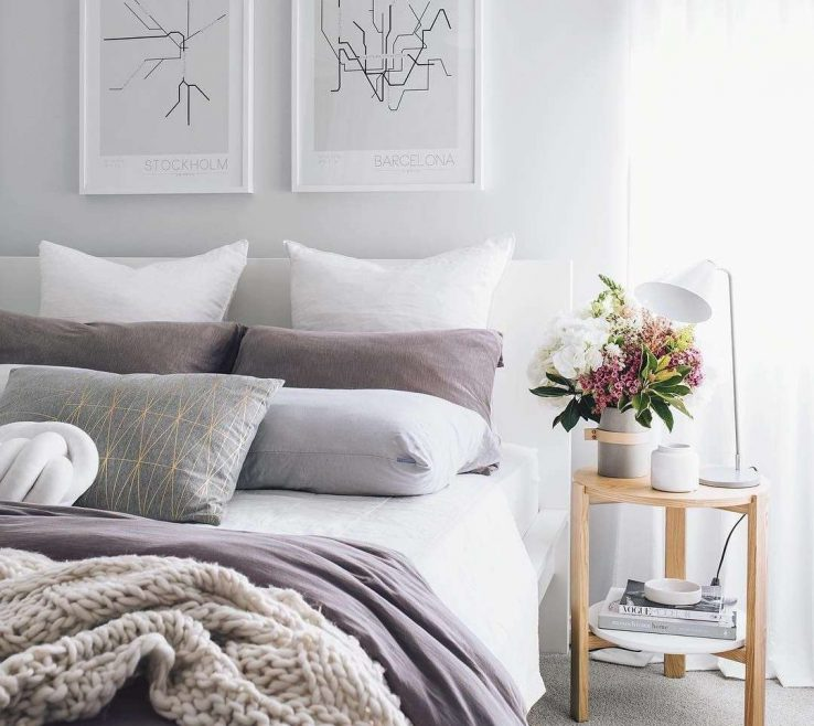Impressing Gray Bedroom Decor Of Lovely Grey Ideas Awesome Light Grey Small