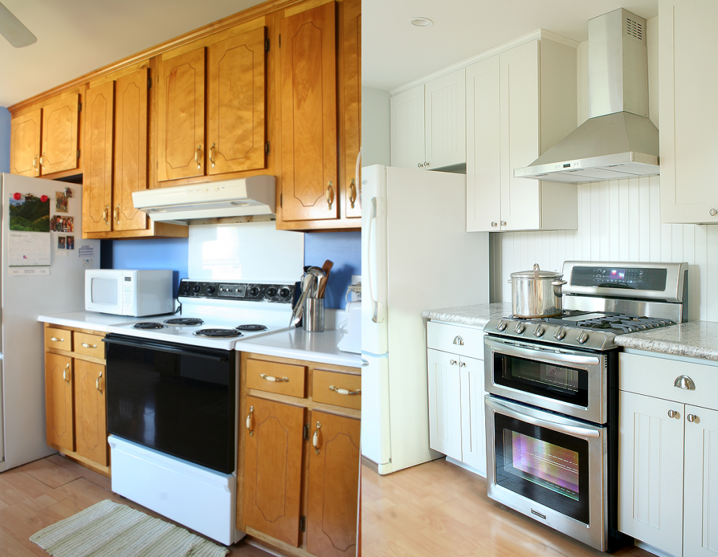 Impressing Kitchen Remodel Before And After Pictures