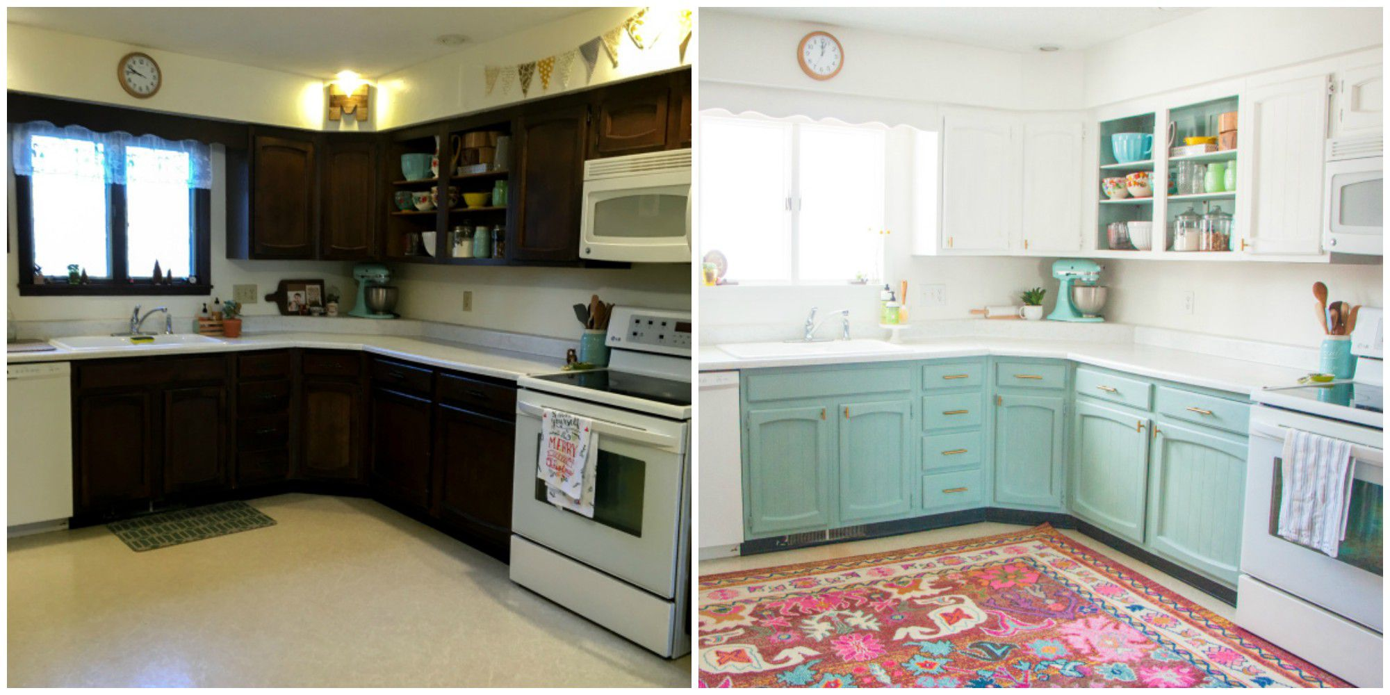 Impressing Kitchen Remodel Before And After Pictures Of Image
