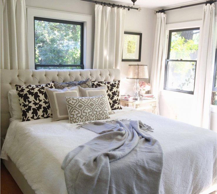 Impressing Large Bedroom Ideas Of Fetching Decorating With To Decorate A Wall