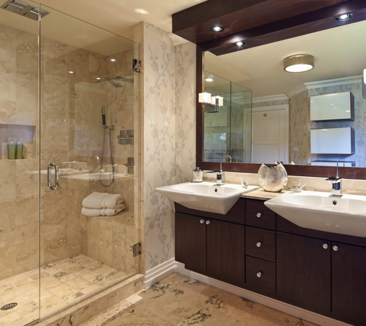 Impressing Master Bathroom Ideas Photo Gallery Of I Think The Wall Tile Is Too