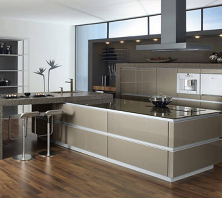 Impressing Modern Kitchen Of More Simple Design