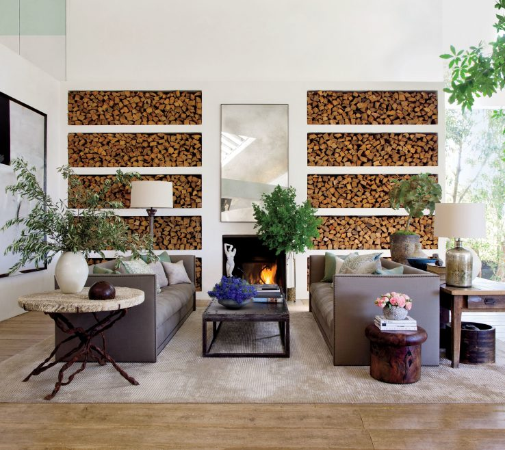Impressive Architectural Digest Living Room Of 28 Rooms With Cozy Fireplaces