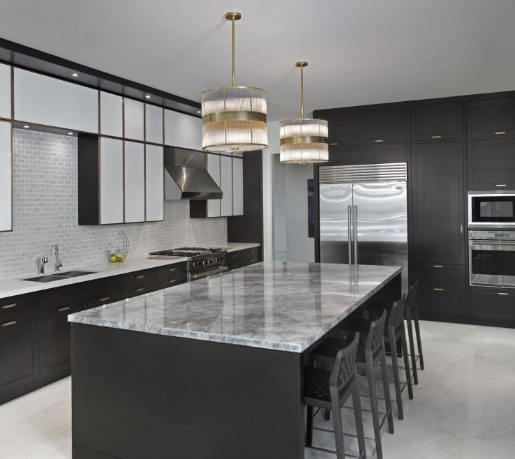 Impressive Black Marble Kitchen S Of Ideas S White Counter Designs Pictures