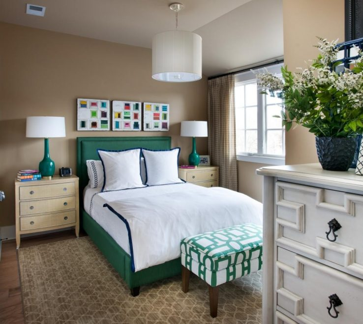 Impressive Guest Bedroom Decorating Ideas Of Home Interior Design With New