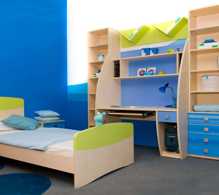 Impressive Kids Bedroom Designs Of Full Bed Furniture White Suite Boys