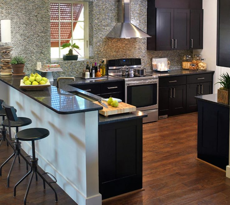 Impressive Kitchens With Black S Of Granite Style