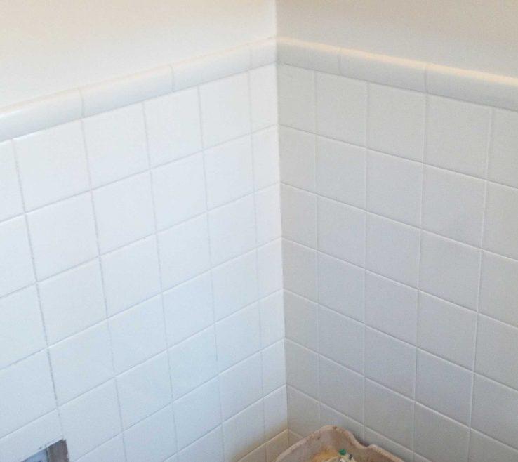 Impressive Reglazing Bathroom Tile Of Old Tiles