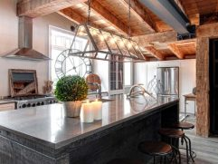 Rustic Contemporary Kitchen