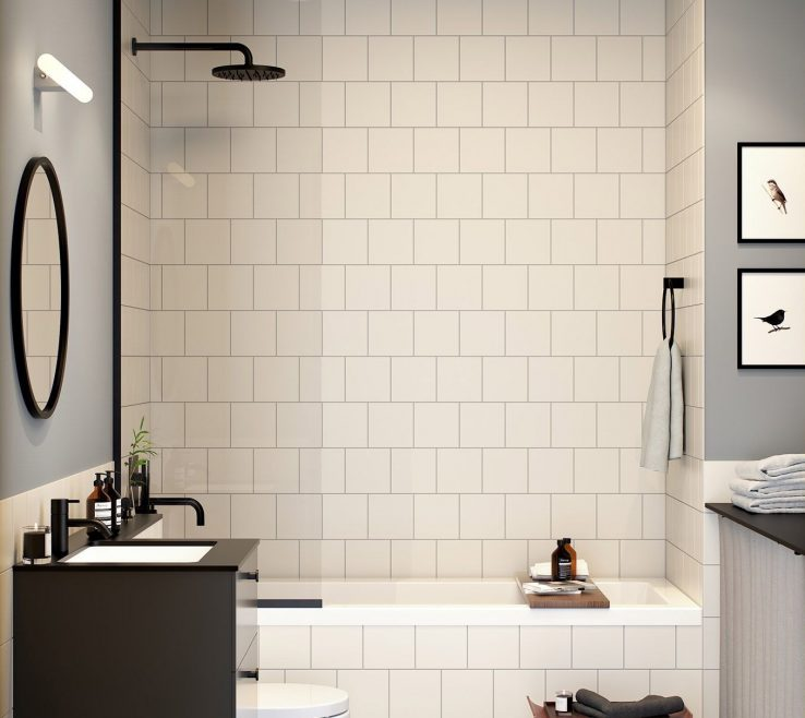 Impressive Small Bathroom Makeover Ideas Of Whether It Is Teensy Shower Stall Powder