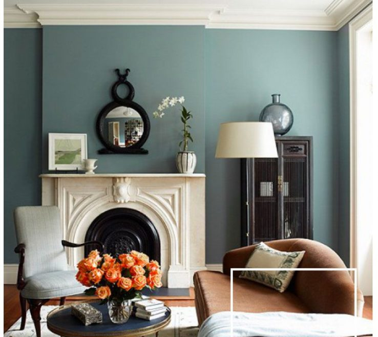 Ing Blue And Green Living Room Of Motivation Monday | #paint #color #stylyze