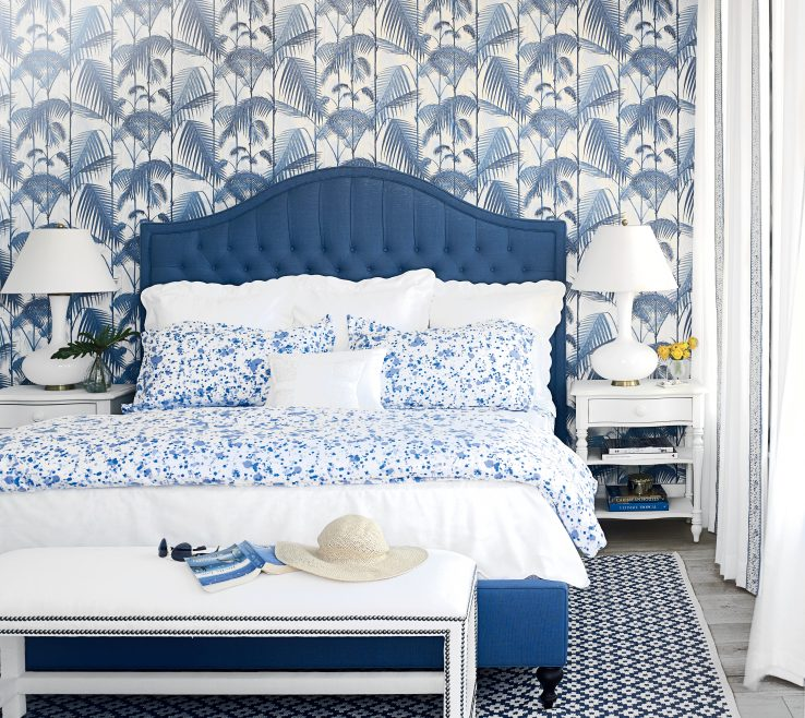 Ing Blue Master Bedroom