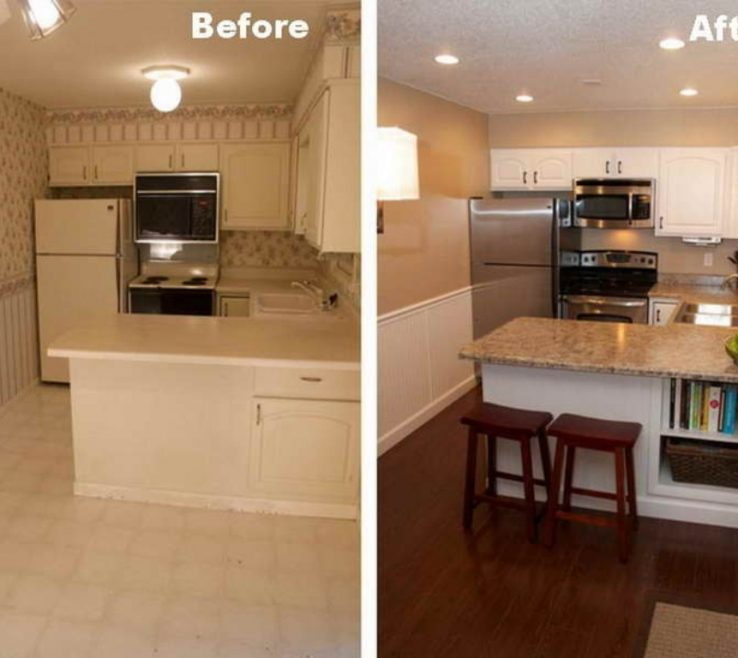 Ing Kitchen Remodel Before And After Pictures Of Whatever They Told You About Galley Is