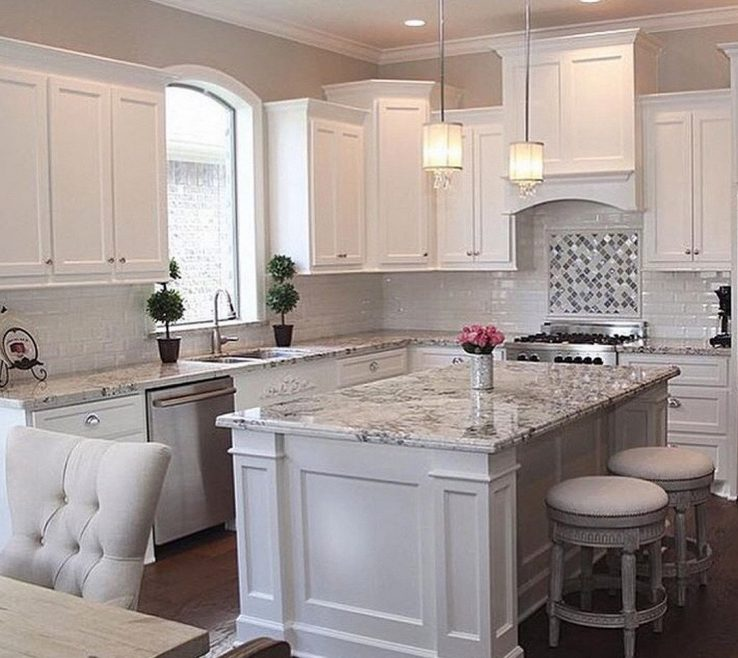 Ing Luxury White Kitchen Of Creative Kitchens With Islands Youll Love