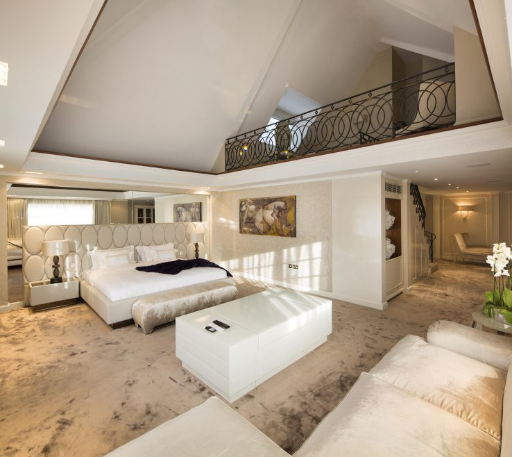 Ing Master Bedroom Suite Of With Mezzanine Level
