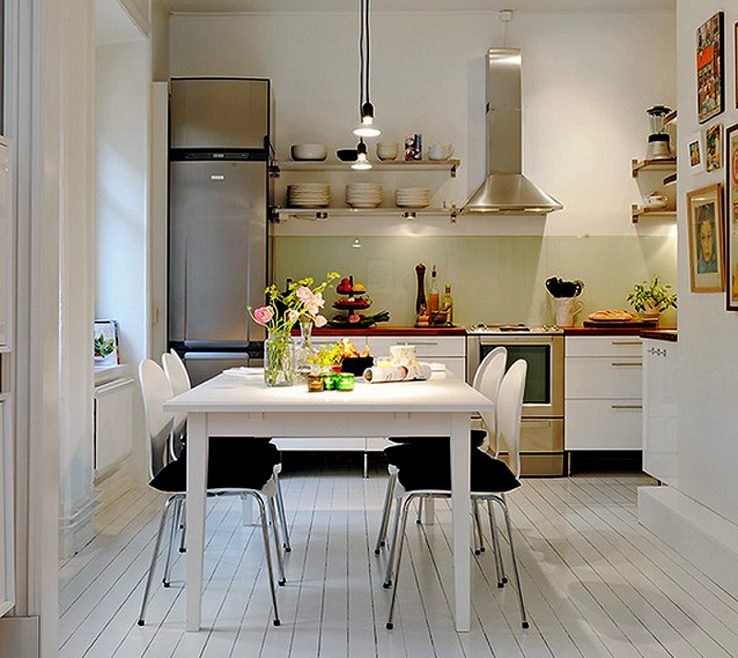 Ing Small Apartment Kitchen Ideas Of Enchanting Design