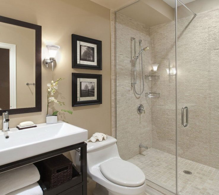 Ing Small Bathroom Remodels Before And After Of Add A Waterfall Shower I