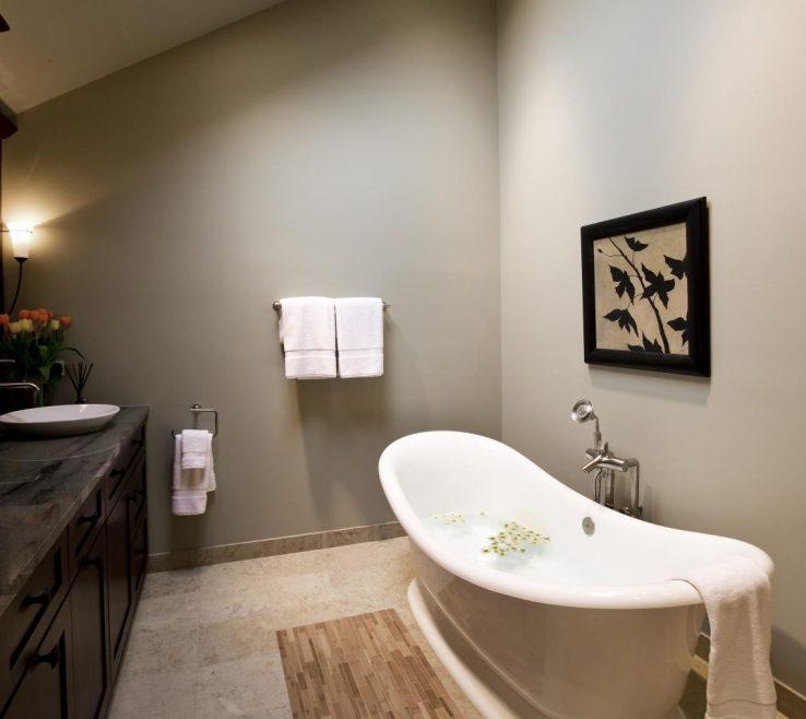 Inspiring Bathroom Tub Ideas Of Soaking Designs