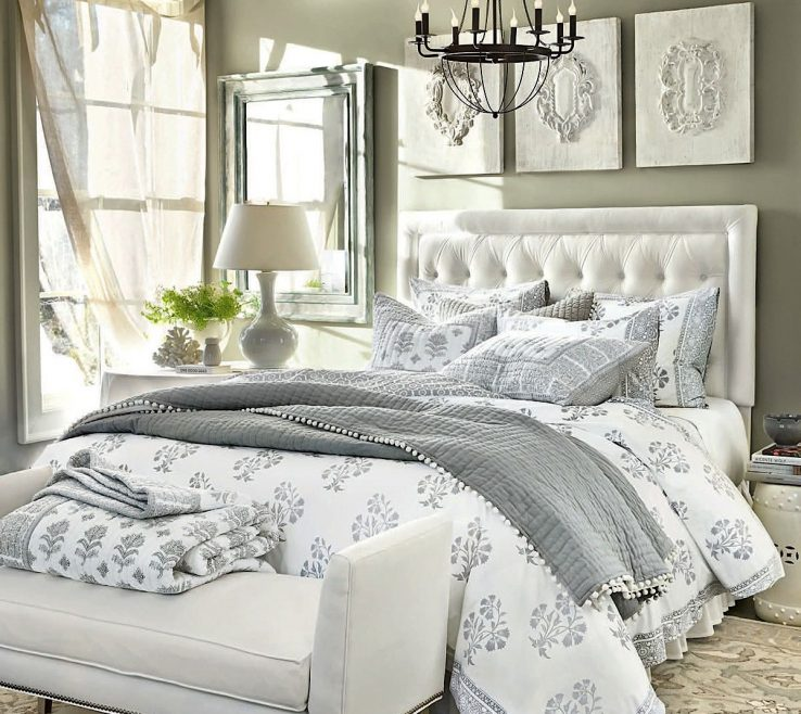 Inspiring Gray Bedroom Decor Of I Love Grey And White Decor, Very