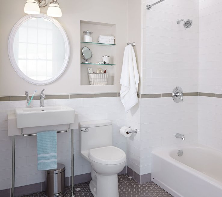 Inspiring Small Bathroom Makeover Ideas