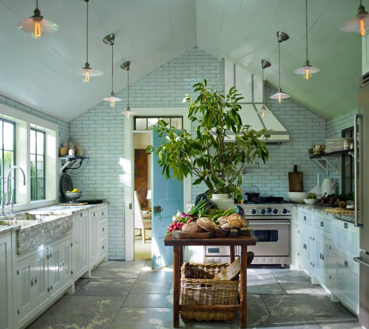 Interior Design For Architectural Digest Kitchens Of Designer Steven Gambrel