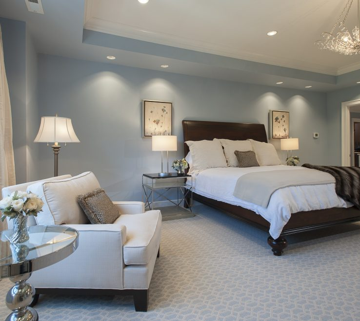 Interior Design For Blue Master Bedroom Of Best Light About Remodel Inspirational Ideas