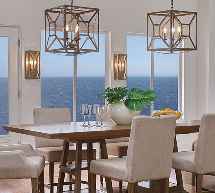 Interior Design For Lantern Chandelier Dining Room Of Marquelle 4 Light By Feiss: The