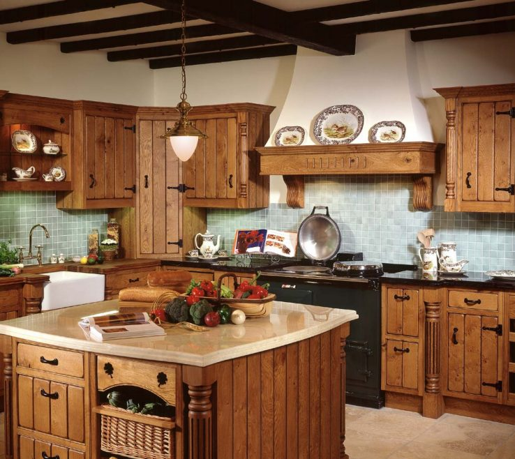 Interior Design For Rustic Style Kitchen Of Decor