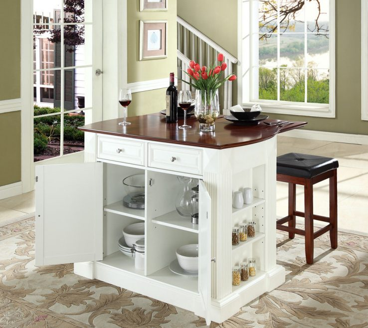 Kitchen Islands For Small Spaces Of Most Remarkable Island With Breakfast Bar