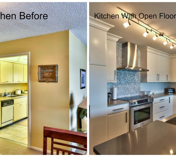 Kitchen Renovation Before And After Of Best Naples Remodeling